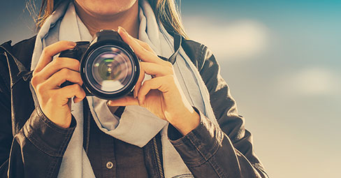 På jakt efter det perfekta fotot