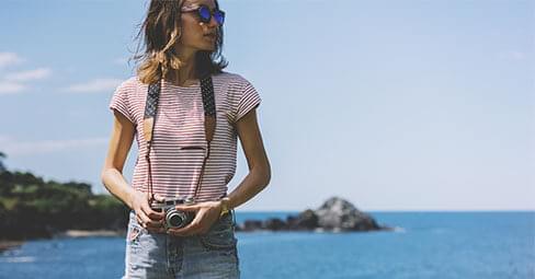 Ta foton på semestern