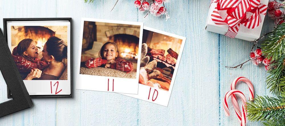 Een advent kalender die je nog steeds leuk vindt na kerstmis - jouw fotodoos