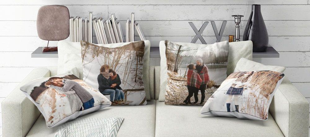 Wellicht de belangrijkste plaats in de winter: een comfortabele sofa met zachte kussens