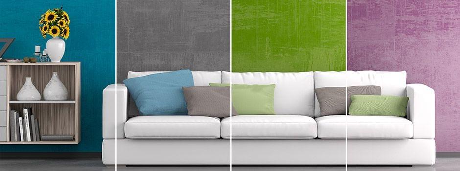 Vergelijk verschillende stijlen en kleurencombinaties