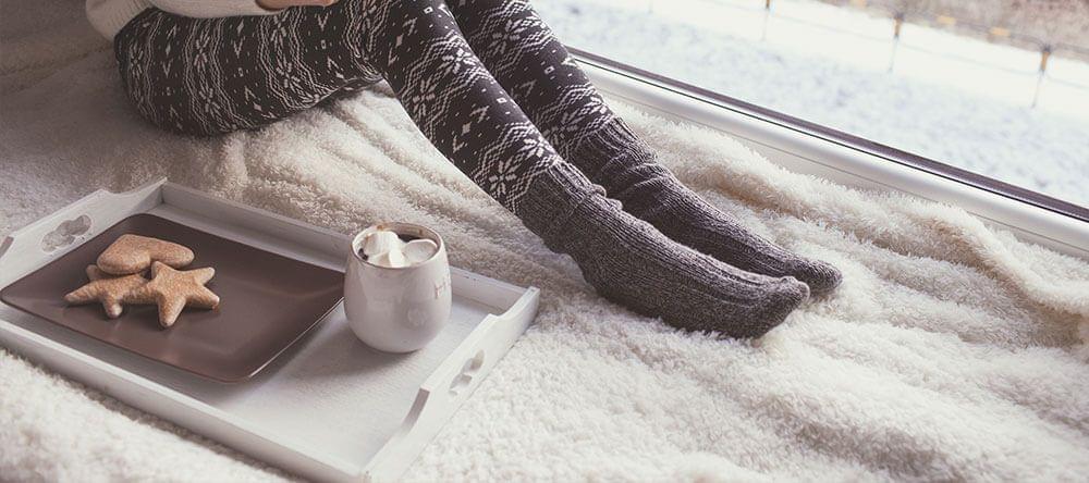 In een gezellig hoekje kan je ontspannen en tot rust komen