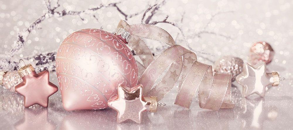 Erg hip: pastel kerstversieringen en mooie ornamenten