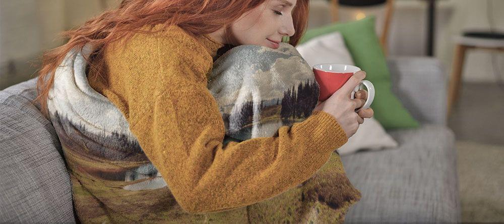 Warme kleuren kunnen de stemming verbeteren - zelfs als je al een warm, zacht deken hebt