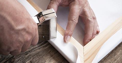 handgemaakte canvas