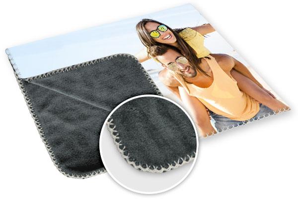 foto op deken gedetailleerd beeld
