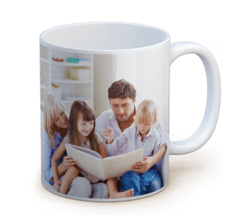 personalized standard photo mug