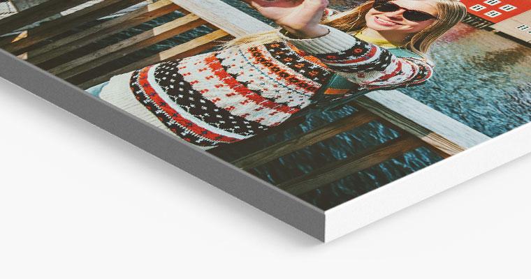photo tiles print closeup