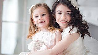 Mädchen kommunion Fotografie