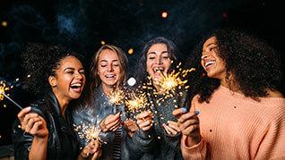 Silvester-Partyfeier