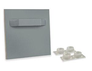 Über den Plattenaufhänger für kleine Plattendrucke