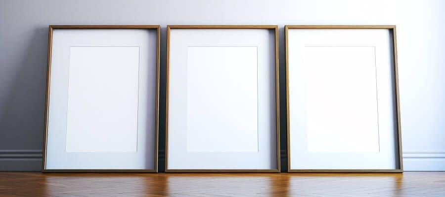Depende del marco –asegúrese de elegir un material específico