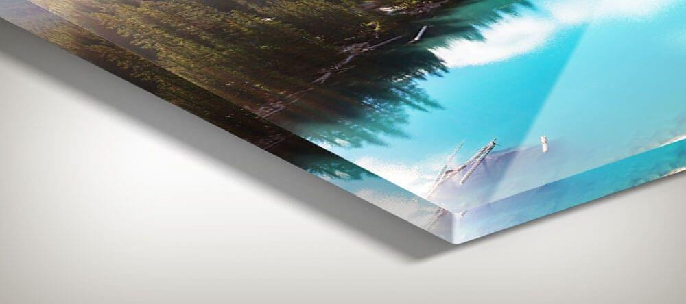 Colores brillantes y resolución supernítida - las fotos con cristal acrílico son impresiones prémium.
