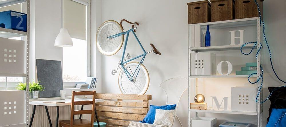 Estanterías regulables, gran opción para pisos pequeños
