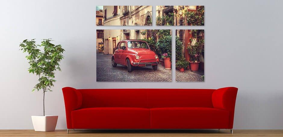 Divide tu imagen en varias impresiones de diferentes tamaños