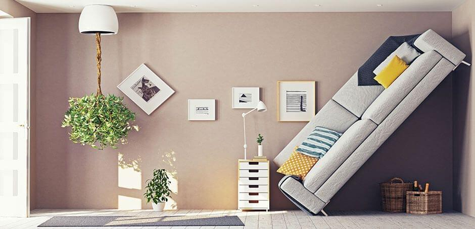 ¿Dónde va el sofá? El diseño interior debe ser el adecuado...