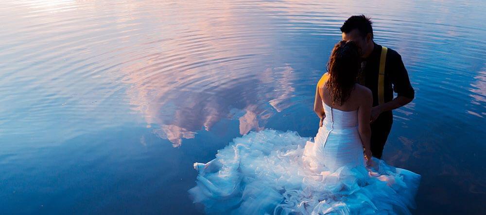 Fotos fantásticas: puesta de sol junto al agua (o, mejor todavía, en el agua)