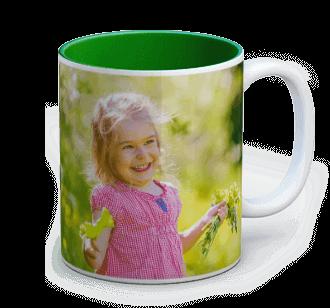taza con foto color