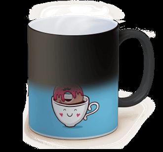 taza con foto magia