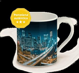taza con foto porcelana