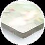 zbliżenie druku w szkle akrylowym