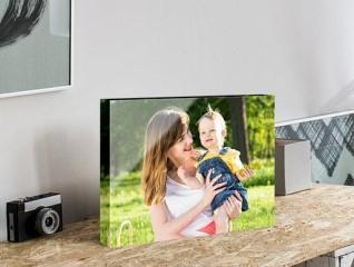 blok akrylowy ze zdjęciem