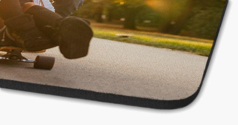 foto auf mousepad nahaufnahme