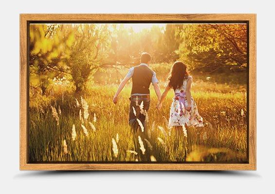 canvas print in ash flair frame fullview