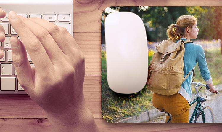 foto mousepad over
