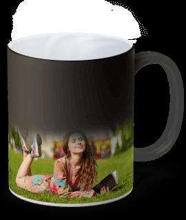 tazza magica con foto